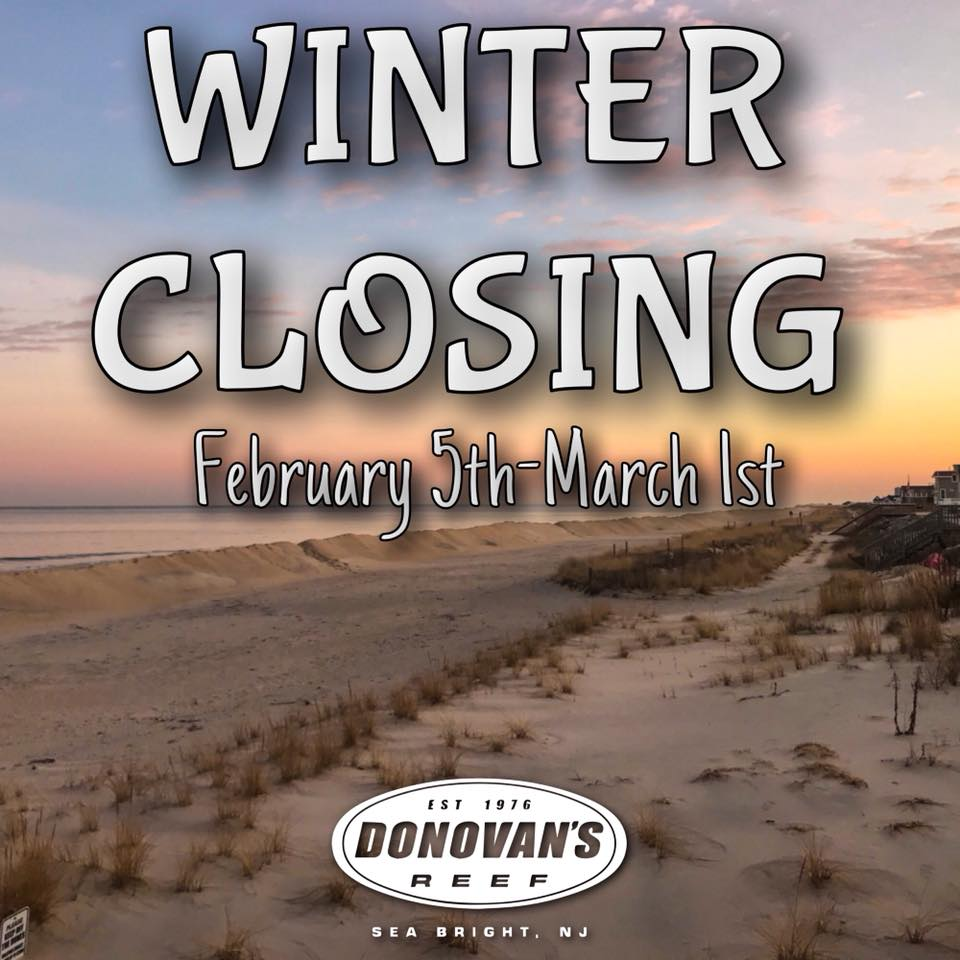 Winter Closing 2018